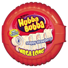 Wrigleys Hubba Bubba  Snappy Strawberry Bubble Gum, 56g