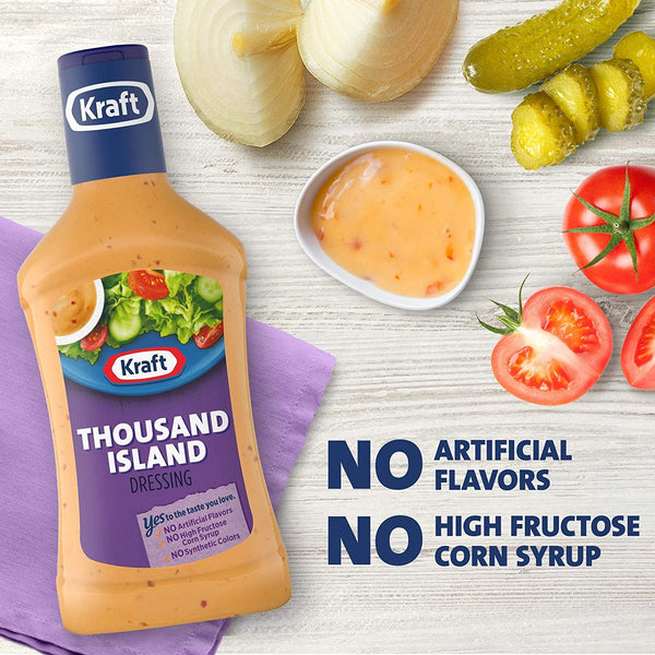 Kraft Thousand Island Dressing, 473ml