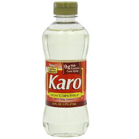 Karo Light Corn Syrup with Real Vanilla Corn - 473 ml