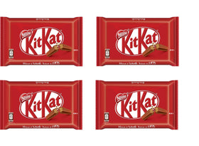 Kit Kat 4 Fingers in Milk Chocolate Imported, 4 x 42 g (Pack Of 4)