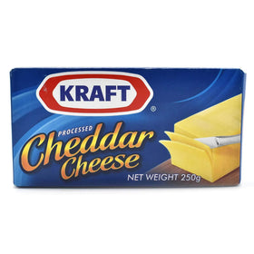 Kraft Processed Cheddar Cheese - 250 gm