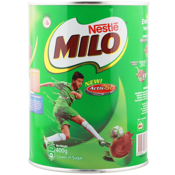 Milo Active Go 400gm-Milk Drink Mix-Krave Bites-Krave Bites