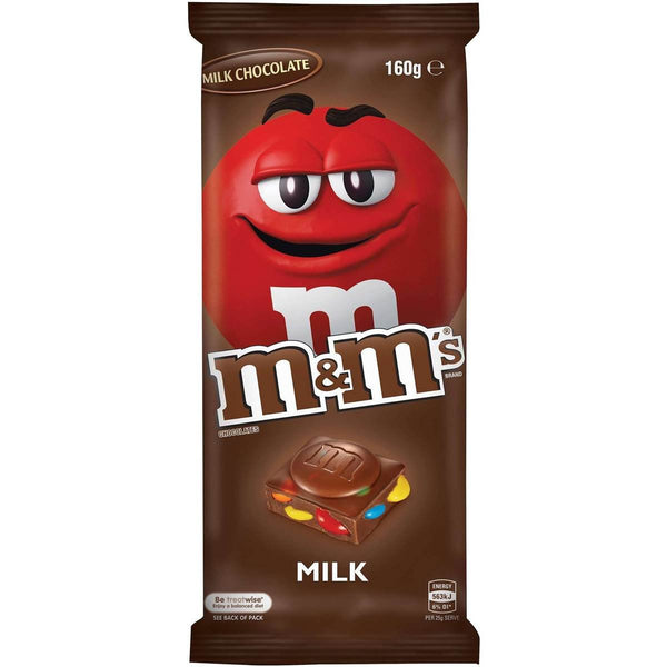 M&M's Chocolate Milk Bar, 160g