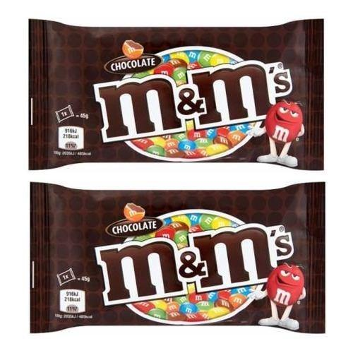 M&M'S Milk Chocolate Candy in Sugar Shell - 45 Grams-Chocolate-Krave Bites-Pack Of 2-Krave Bites