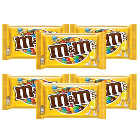 M & M Peanut Milk Chocolate Pouch, 45 gm (Pack Of 6)