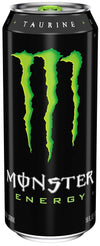Monster Energy Drink, Green, Original, 500ml - Krave Bites