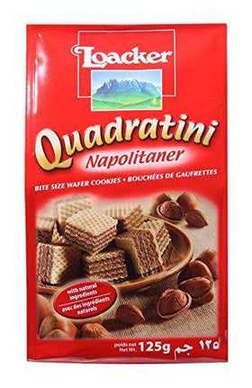 Loacker Napolitaner Bite Size Wafer Cookies - 125g