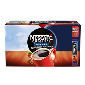 Nescafe Original Decaffeinated Coffee Sticks 1.8g, Box Of 200 Sachets