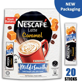 Nescafe Latte Caramel  Imported Instant Coffee  (500 g)