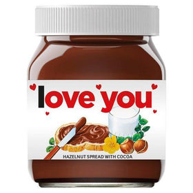 Nutella 350gm Limited Edition ( I Love You / for You )