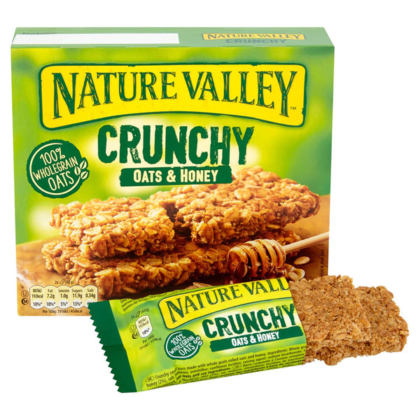 Nature Valley Crunchy  Oats n Honey, 210g (Imported)
