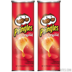 Pringles Original Potato Chips, 149g (Pack of 2)