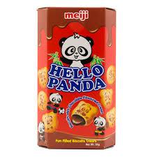 Meiji Hello Panda Imported Chocolate Biscuits 50gm-Chocolate-Krave Bites-Krave Bites