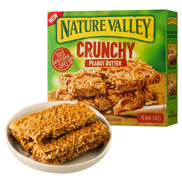 Nature Valley Crunchy Peanut Butter, 210 g (Imported)