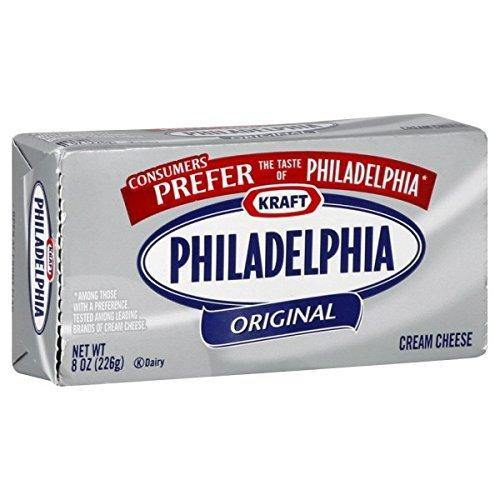 Kraft Philadelphia Original Cream Cheese, 226g-Krave Bites