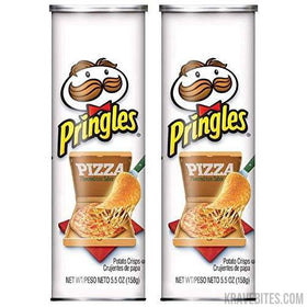 Pringles Pizza Potato Chips, 158g (Pack of 2)
