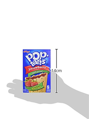 Pop Tarts Unfrosted Strawberry Pouch, 416 g