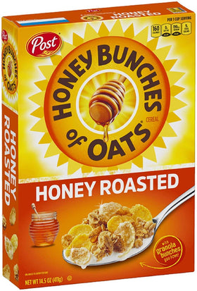 Post Honey Bunches of Oats Crunchy Honey Roasted, 411 g
