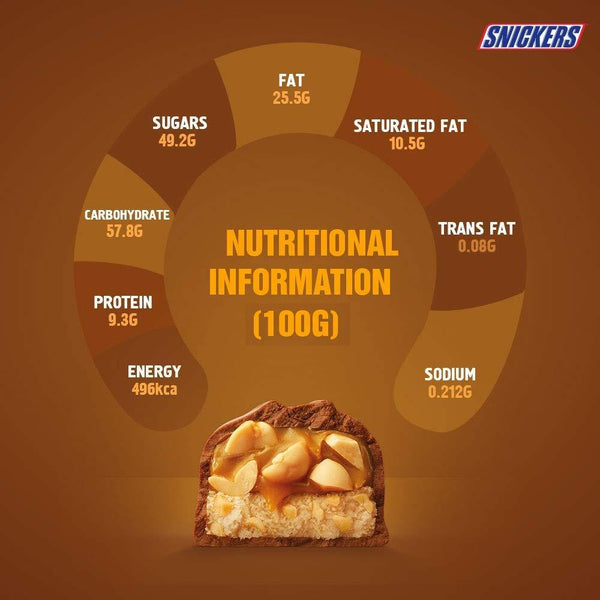Snickers Peanut Filled Chocolates- 50g Bar (Pack of 3)-Krave Bites