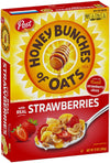 Post Honey Bunch of Oats with Strawberry, 368g-Krave Bites