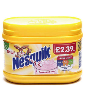 Nesquik Strawberry Flavored Powder