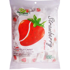 Haoliyuan Strawberry  Candy 350 gm (100 Pieces)