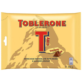 Toblerone Tiny Swiss Milk Chocolate Imported (200 g)
