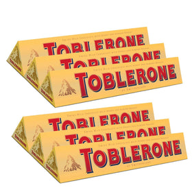 Toblerone  Milk Chocolate  - 6 x100 g