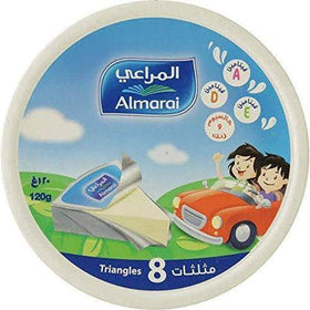 Almarai Triangle Cheese 8 Portions 120g