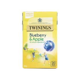 Twinings Blueberry and Apple Tea, (Imported)  (40 g)