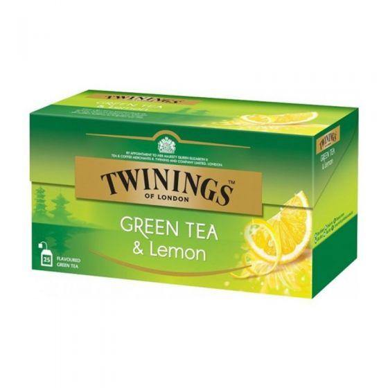 Twinings Green Tea Lemon & Honey, 25 Teabags - Krave Bites