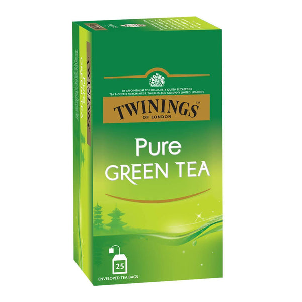 Twinings Pure Green Tea, 25 Teabags - Krave Bites