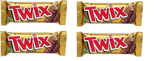 Twix Imported 50gm x (Pack Of 4)-Krave Bites