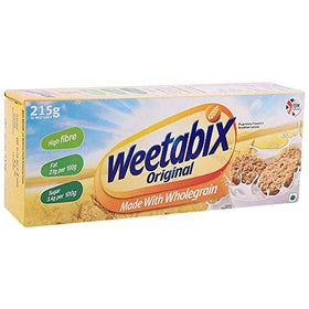 Weetabix Whole Grain Cereal  (215 g, Box)