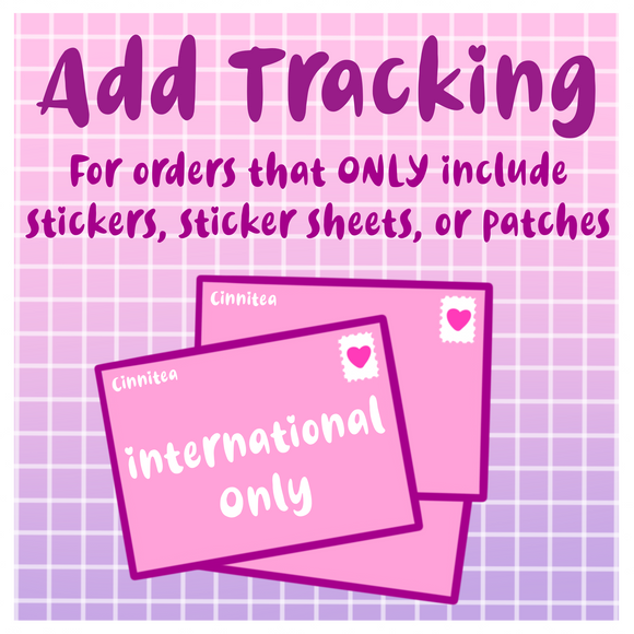 International (& Canada) Sticker and Patch Tracking - Cinnitea