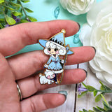 Winter Witch Enamel Pin - Cinnitea