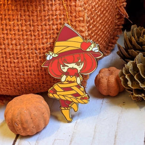 Apple Pie Witch Enamel Pin - Cinnitea
