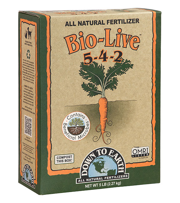 Bio Live Organic Fertilizer Mix