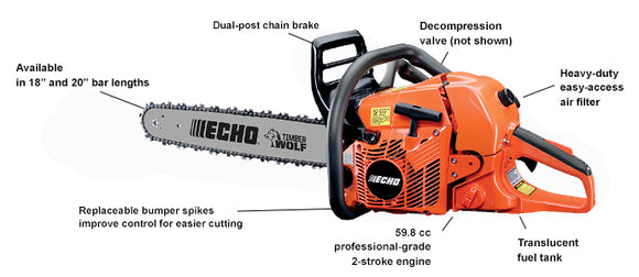 ECHO CS-590 Chainsaw 20
