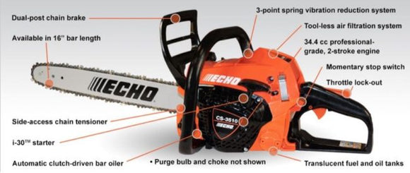 ECHO CS-3510 Chainsaw