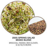 Mumm's Organic Non-GMO Sprouting Seeds - Sandwich Booster 125g