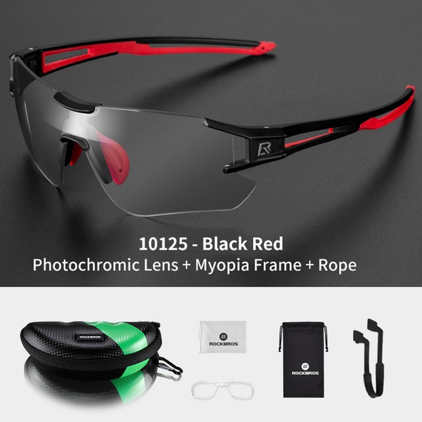Photochromic Cycling Men's Sunglasses - Eyelaado