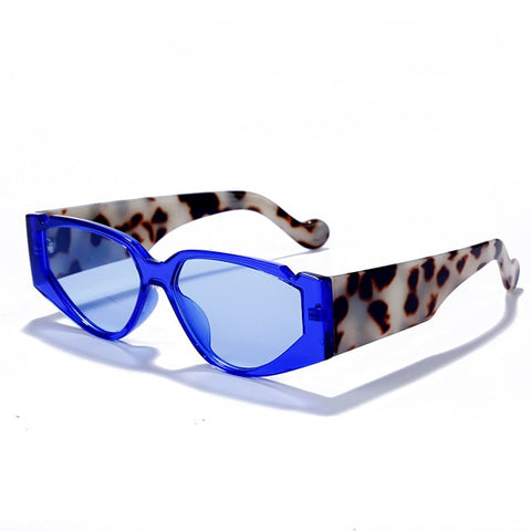 Colourful Clear Lens Sun Glasses - Eyelaado