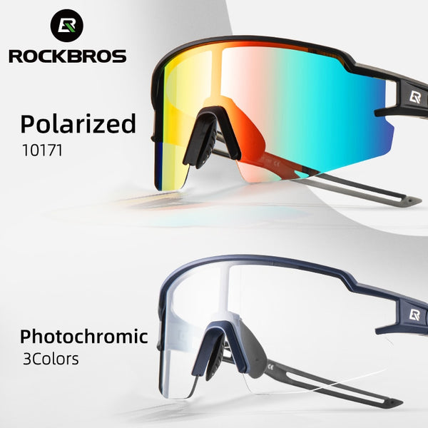 Polarized Built-in Myopia Frame Sports Sunglasses - Eyelaado