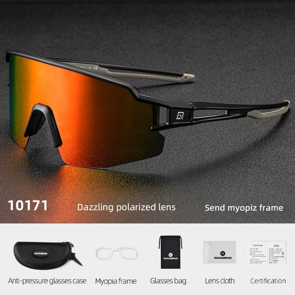 Men Polycarbonate Sports Sunglasses - Eyelaado