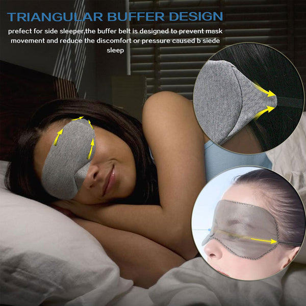 Portable Sleep Mask Eye Mask Eyeshade Cover - Eyelaado