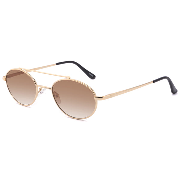 Unisex Vintage Metal Men Sunglasses - Eyelaado