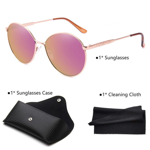 Fashion High Quality Women Metal Sunglasses - Eyelaado