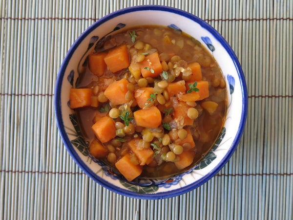 Sweet Potato and Lentil Stew