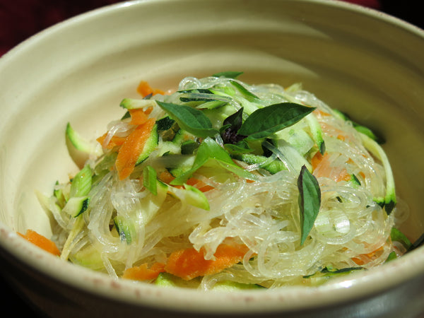 Glass Noodles with Vegetables and Thai Dressing